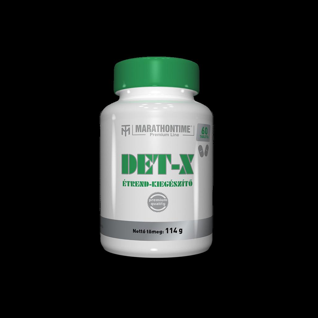 DET-X  Szervezettisztító komplex formula