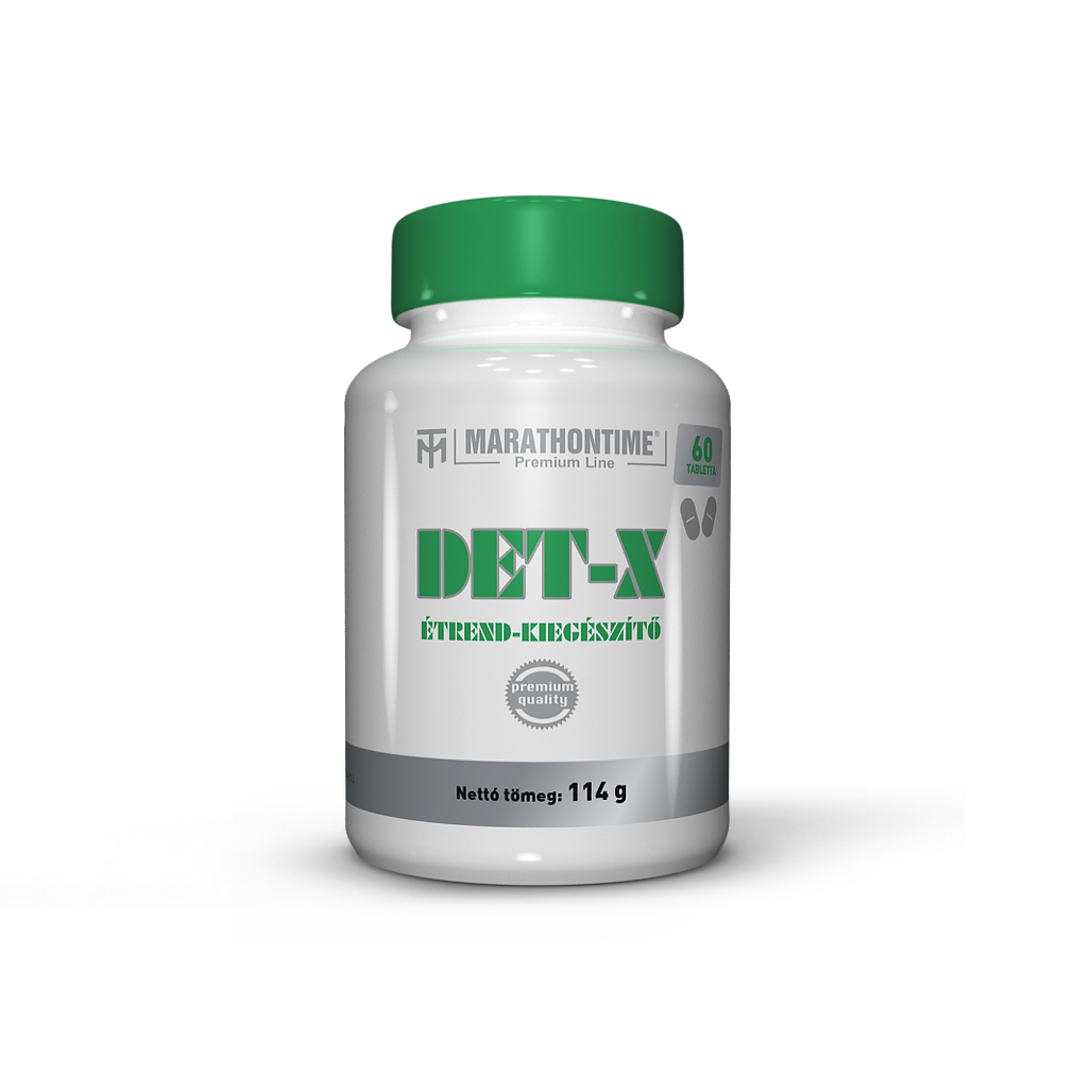 Det X   új étrend-kiegészítő Marathontime 60 darab tabletta méregtelenítő