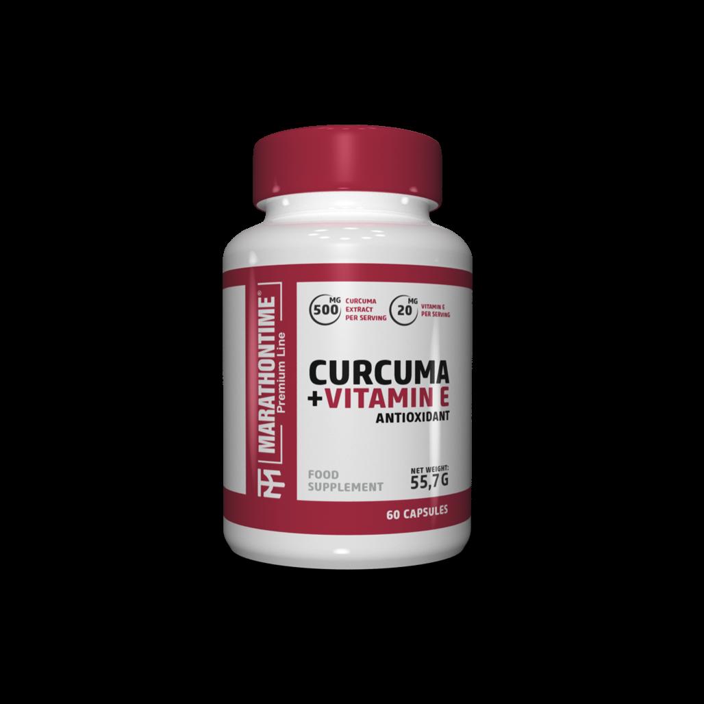 Kurkuma - Természetes kurkuminnal és E-vitaminnal