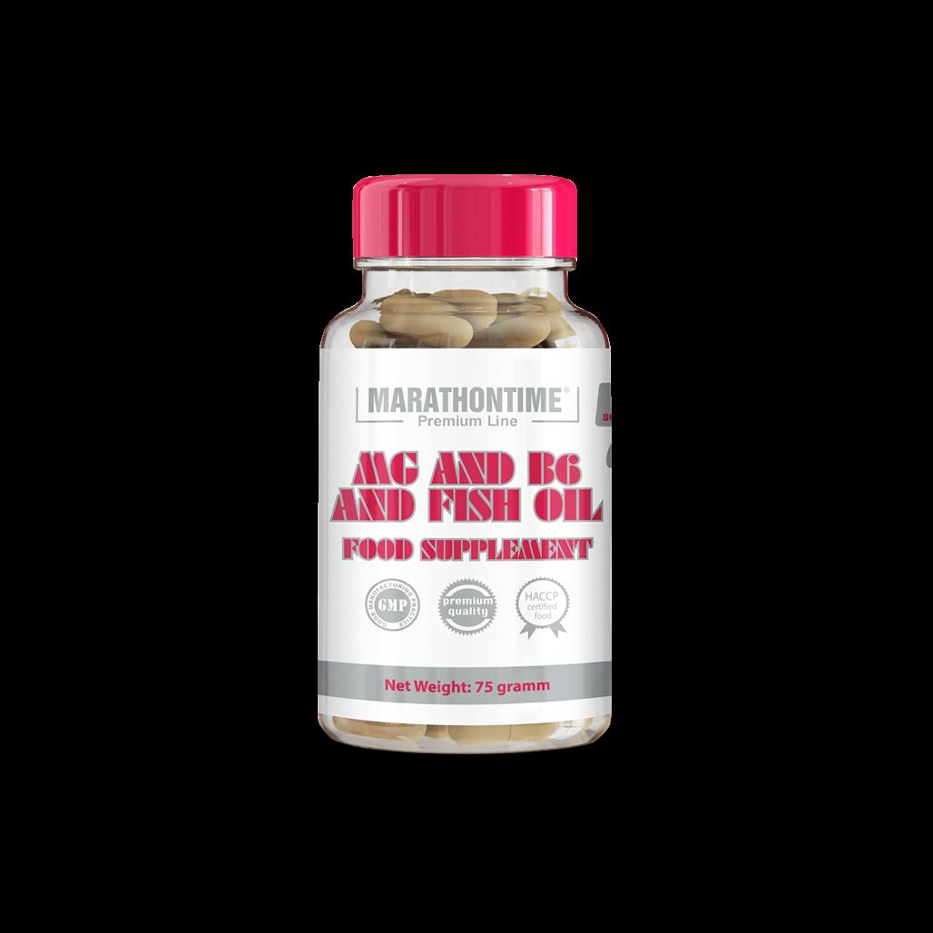 Mg + B6 in fish oil