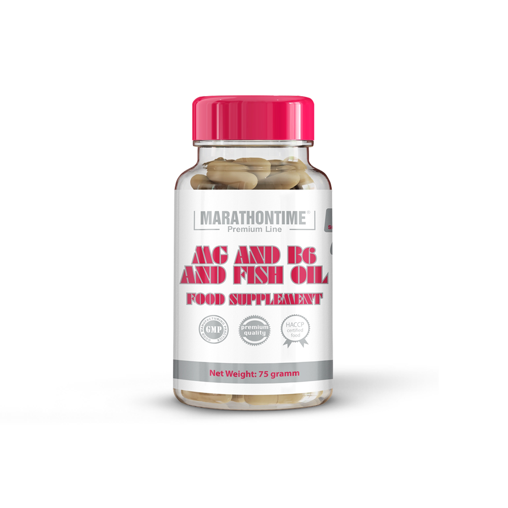 Mg + B6 in fish oil
