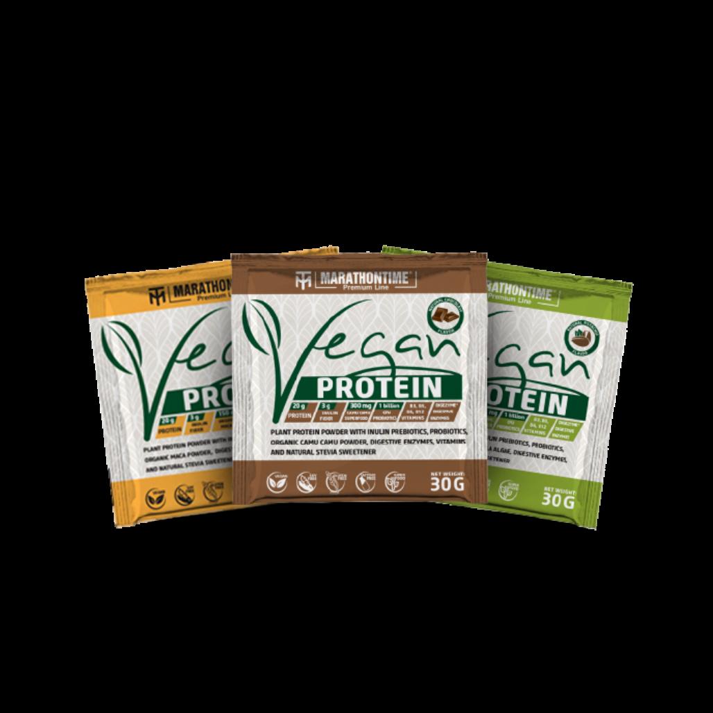 Ultra pack - Premium Vegan Protein Tasting pack 3pcs