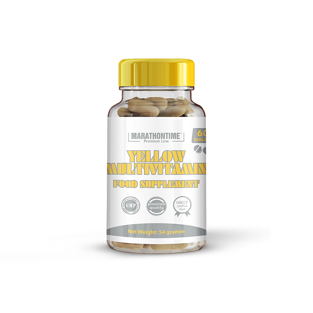 Yellow multivitamin