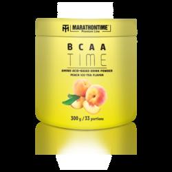 Marathontime Premium Line BCAA por Barackos Jeges Tea ízesítéssel 300 g