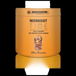 Marathontime Premium Line Workout Time Cola ízű instant protein por 210g