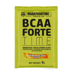 BCAA Forte Time 9 g barackos jeges-tea íz