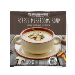Forest mushrooms soup