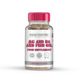Mg + B6 halolajban étrend-kiegészítő lágyzselatin kapszula 60 db