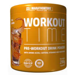 Pre-workout Time 210 g kóla íz