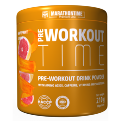 Pre-Workout Time 210 g grapefruit íz