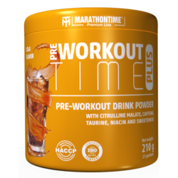 Pre-Workout Time Plus 210 g kóla íz