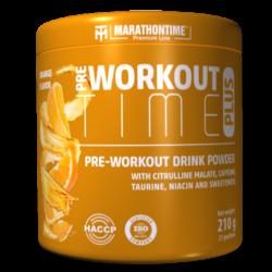 Pre-workout Time Plus 210 g narancs íz