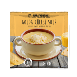 Gouda cheese soup
