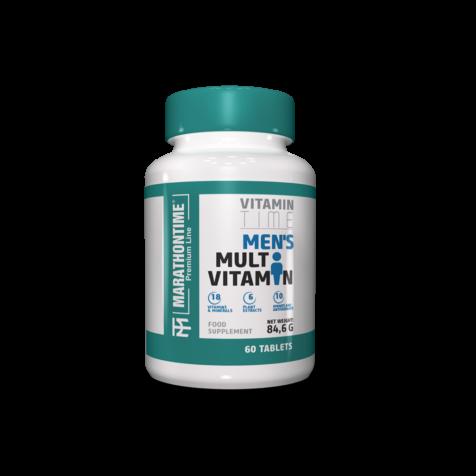 Férfi multivitamin  étrend-kiegészítő Marathontime 60db prémium minőség
