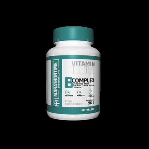 B-complex új generációs Marathontime étrend-kiegészítő formula