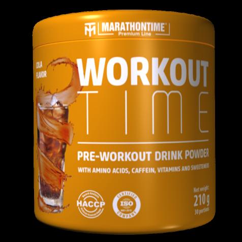 Pre-workout Time 210 g kóla íz Marathontime
