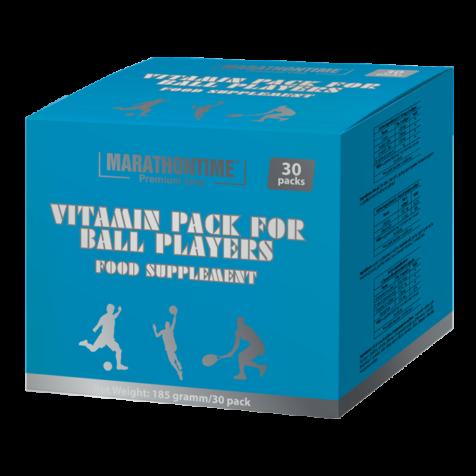 Vitaminpack Labdajátékosoknak   étrend-kiegészítő Marathontime 30db jó ár-érték arány