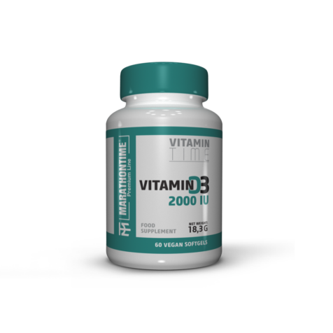 Vegán D-vitamin  új étrend-kiegészítő Marathontime prémium minőség