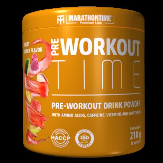 Pre-workout Time 210 g gyümölcs puncs íz