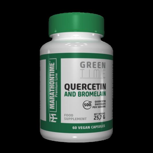 Quercetin és Bromelain  új formula étrend-kiegészítő Marathontime prémium minőség