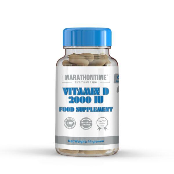 D-vitamin 2000 NE étrend-kiegészítő lágyzselatin kapszula 60 db