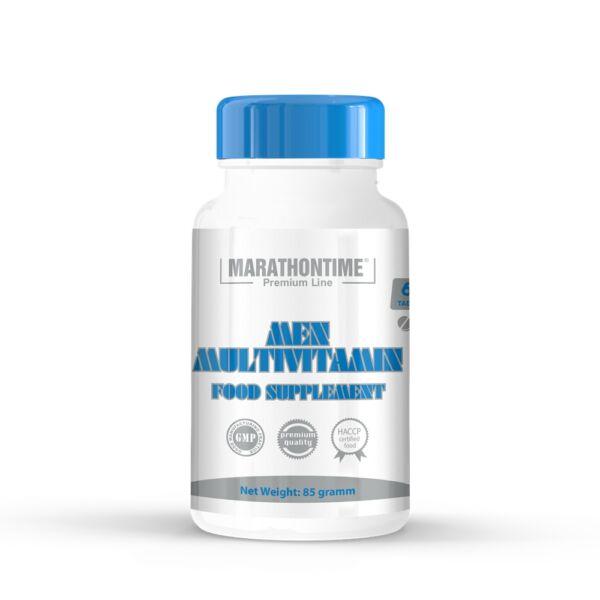 Férfi multivitamin étrend-kiegészítő tabletta 60 db