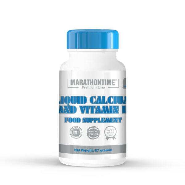Folyékony kalcium és D-vitamin étrend-kiegészítő lágyzselatin kapszula 60 db