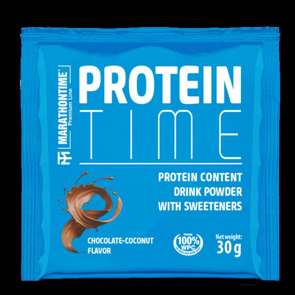 Protein Time 30 g  csokoládé- kókusz íz
