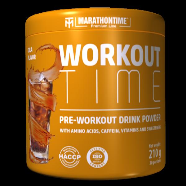 Pre-workout Time 210 g kóla íz