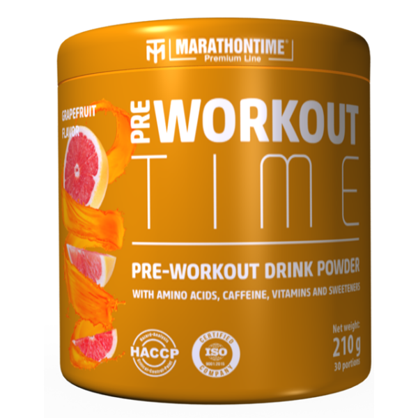 Pre-Workout Time 210 g grapefruit íz